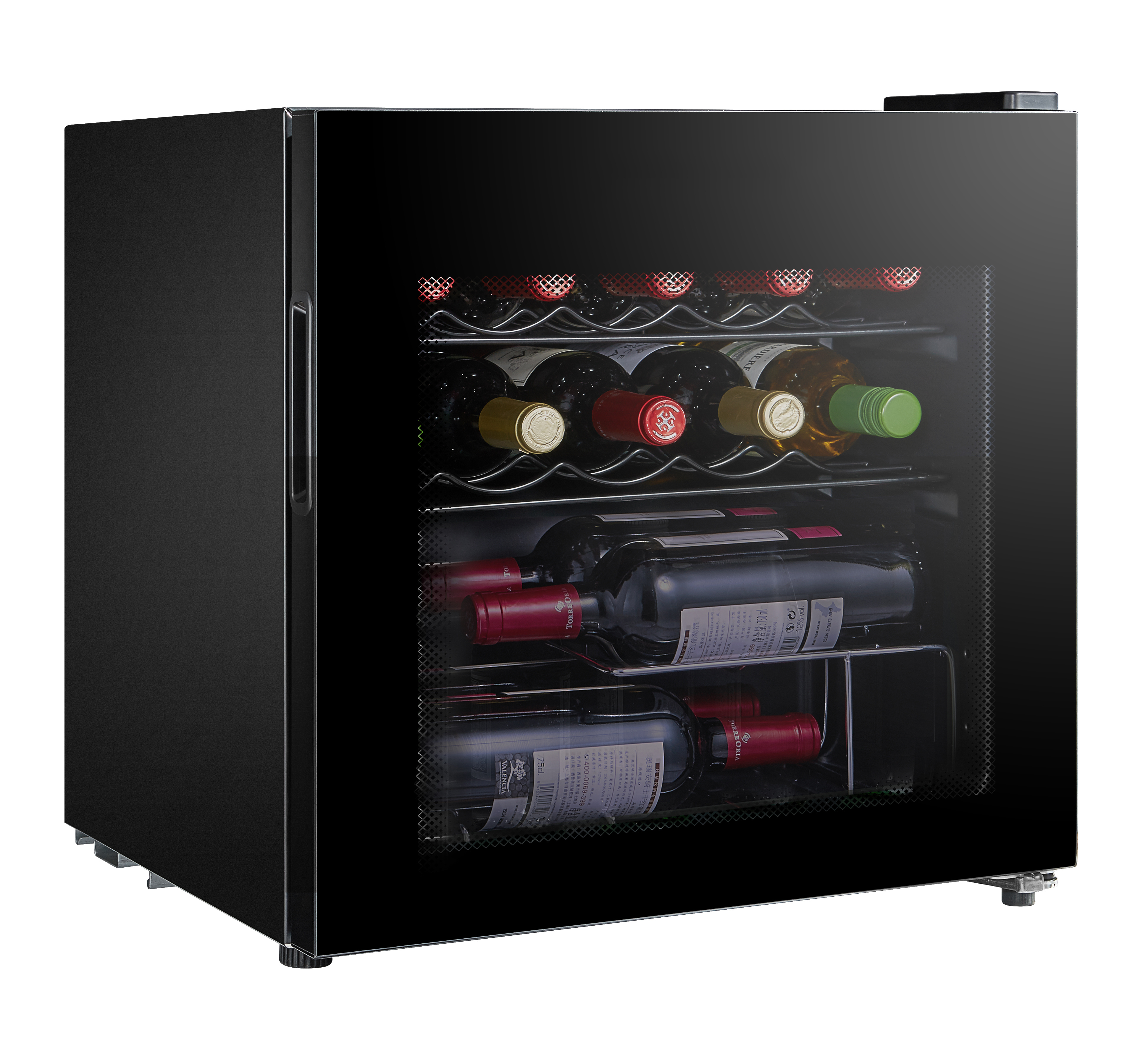LEC DF48B 444410145 Table Top Wine and Beer Fridge Black