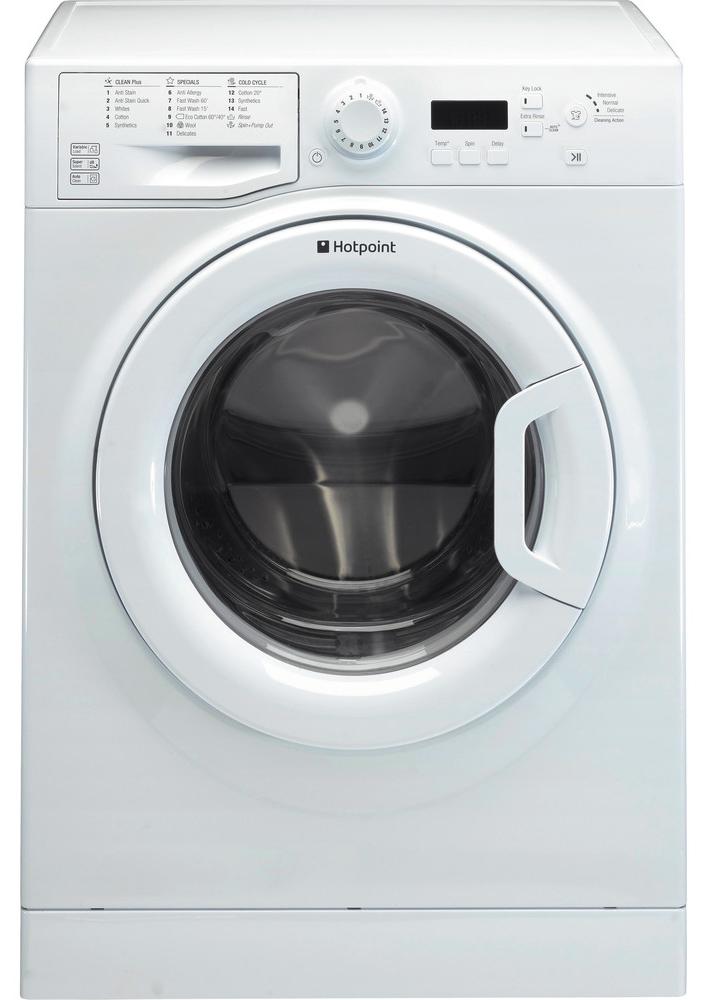 Hotpoint WMBF844P 60cm Freestanding Washing Machine White