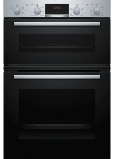 Bosch MHA133BR0B Built-in double oven Stainless steel
