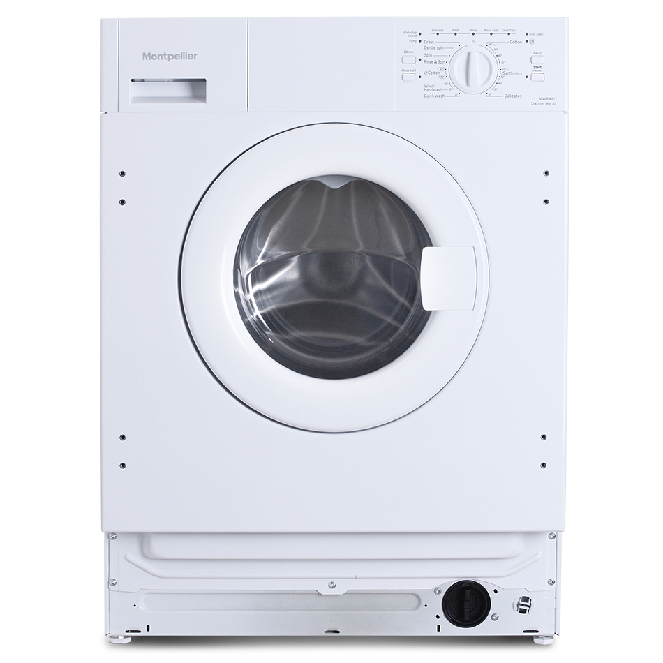 Montpellier MWBI6012 Built-in Washer White