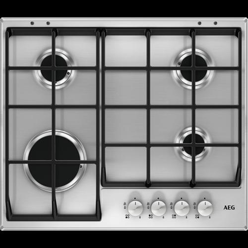 AEG HG654351SM Gas Hob Stainless steel
