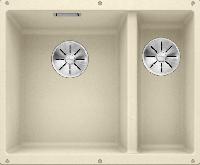 Blanco SUBLINE 340-160-U Silgranit Undermount 1.5 Bowl Sink Jasmine