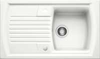 Blanco Setura 5 S Inset Ceramic Single Bowl Sink Crystal White