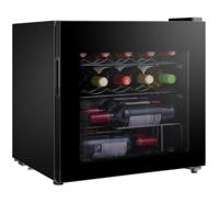 LEC DF48B 444410145 Freestanding Wine Cooler Black