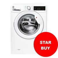 Hoover H3W 49TE/1-80 H-WASH 300 LITE ( H3W49TE ) 60cm 1400spin 9kg * STAR BUY * Freestanding Washing Machine White