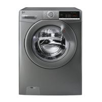 Hoover H3W 49TGGE/1-80 H-WASH 300 LITE  9kg 1400spin ( H3W49TGGE ) Freestanding Washing Machine Graphite
