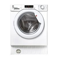 Hoover HBWS 48D2E/1-80 H-WASH 300 LITE 8kg 1400Spin ( HBWS48D2E/1-80 ) White Door Integrated Washing Machine White