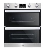 Belling BI702FP 444444781 70cm Built-Under Double Electric Oven Stainless steel