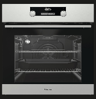 Hisense BI3221AXUK 60cm Single Fan Oven with Steam Clean Built-in Single Electric Oven Stainless steel