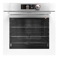 DeDietrich DOP8574W Multifunction With Pyrolytic Built-in Single Electric Oven White
