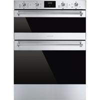 Smeg DUSF6300X Classic Built-Under Double Electric Oven Stainless steel