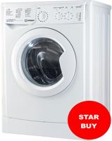 Indesit IWC 71252 W UK N EcoTime ( IWC71252E ) 1200Spin 7kg Freestanding Washing Machine White