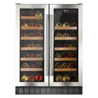 CDA FWC624SS 40 x 75cL Bordeaux bottles ( Only 1 Left In Stock - New & Boxed) Freestanding Wine Cooler Stainless steel