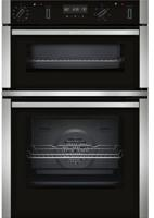 NEFF U2ACM7HN0B N 50 Pytolytic 60cm Built-in Double Electric Oven Stainless steel