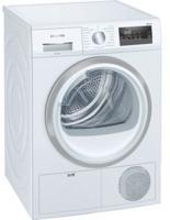 Siemens WT45N201GB Freestanding Condenser Tumble Dryer White