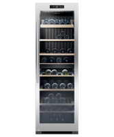 Fisher & Paykel RF356RDWX1 60cm 144 Bottle Dual Zone Freestanding Wine Cooler Stainless steel