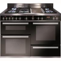 CDA RV1200SS 120cm Triple Cavity Dual Fuel Range Cooker Stainless steel