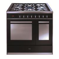 CDA RV921SS 90cm Twin Cavity Dual Fuel Range Cooker Stainless steel