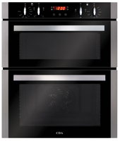 CDA DC740SS 60cm Built-Under Double Electric Oven Stainless steel