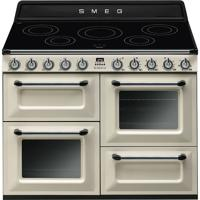 Smeg TR4110IP 110cm Victoria Traditional Induction Electric Range Cooker Cream