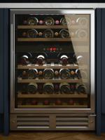 Culina WINE60.1 60cm Dual Zone 46 Bottles Freestanding Wine Cooler Stainless steel