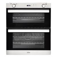 Belling BI702G 444444793 70cm Easy-clean Built-Under Double Gas Oven Stainless steel