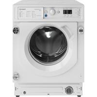 Indesit BI WMIL 81284 UK 8kg 1200spin ( BIWMIL81284 ) Push&Go Integrated Washing Machine White