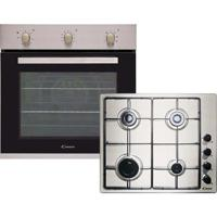 Candy CGHOPK60X/E  Gas Hob with Single Multifunction Oven Built-in Oven and Hob Pack Stainless steel