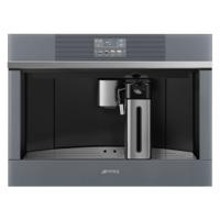 Smeg CMS4104S 60cm Linea Fully Automatic Built-in Coffee Machine Silver Glass