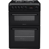 Hotpoint HAG60K NEWSTYLE 60cm Freestanding Gas Cooker Black