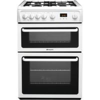 Hotpoint HAG60P NEWSTYLE  60cm Freestanding Gas Cooker White