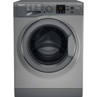 Hotpoint NSWR 943C GK UK 9kg 1400spin Freestanding Washing Machine Graphite