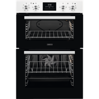 Zanussi ZOD35661WK Built-in Double Electric Oven White
