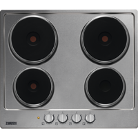 Zanussi ZEE6942FXS 60cm Solid-Plate Electric Hob Stainless steel