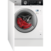 AEG L7WC8632BI 7000 SERIES 8kg 1600rpm Integrated Washer Dryer White