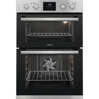 Zanussi ZOD35802XK 60cm Built-in Double Electric Oven Stainless steel