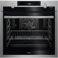 AEG BPS555020M 71Litres SteamBake Built-in Single Electric Oven Stainless steel