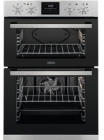 Zanussi ZOD35660XK 60cm Built-in Double Electric Oven Stainless steel