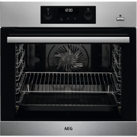 AEG BPS355020M STEAMBAKE Multifunction *** Only 1 Left - NEW & Boxed *** Built-in Single Electric Oven Stainless steel