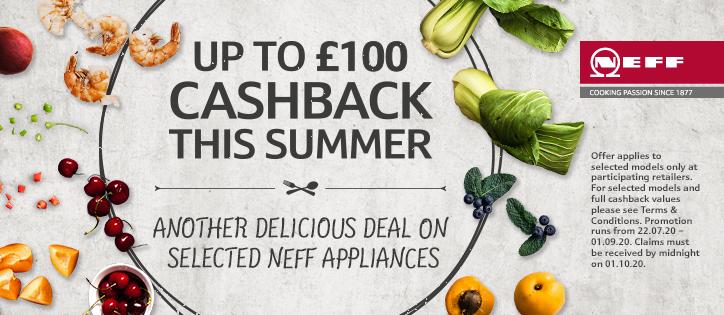 Neff Cachback offer
