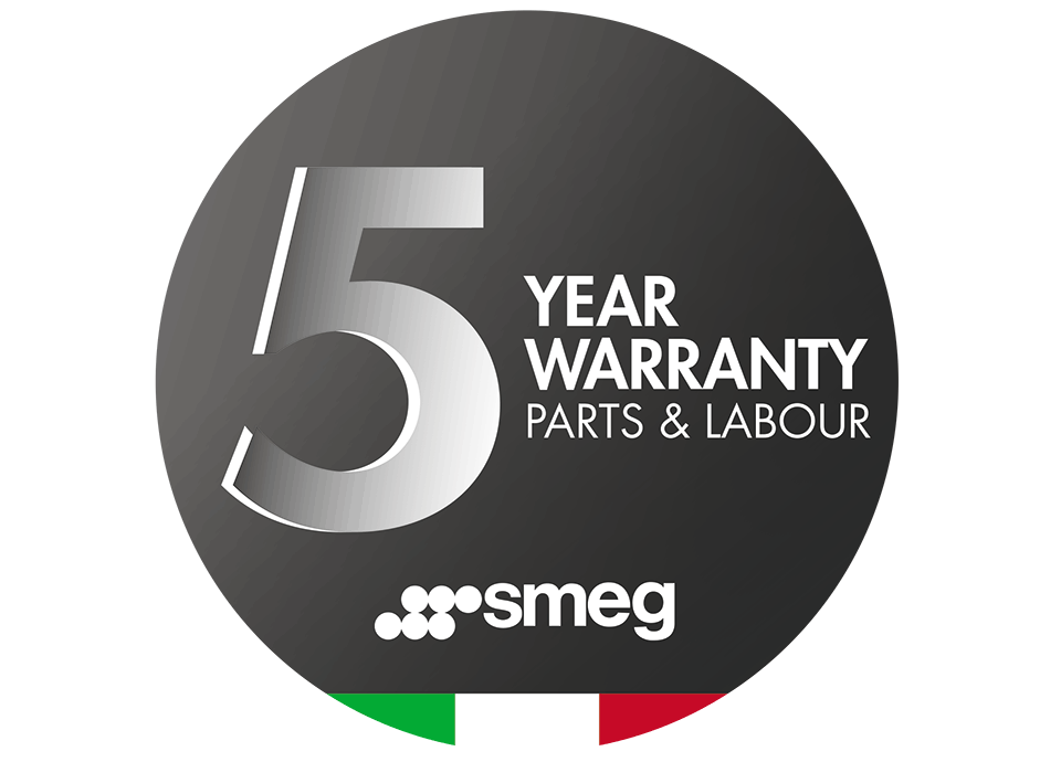 5 Year Warranty Parts & Labour (On Selected items)