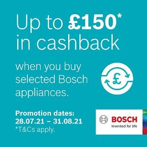 Bosch Summer 2021 CashBack