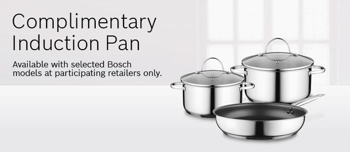Bosch Complimentary Pan Promotion  Till 31.12.21