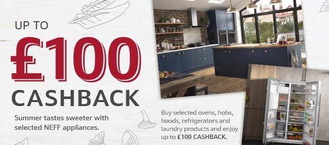 NEFF Summer 2021 Cashback (Upto £100)